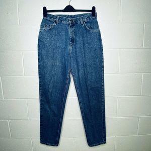 Lee 14M Mom Jeans High Waist Tapered Leg VTG 90s